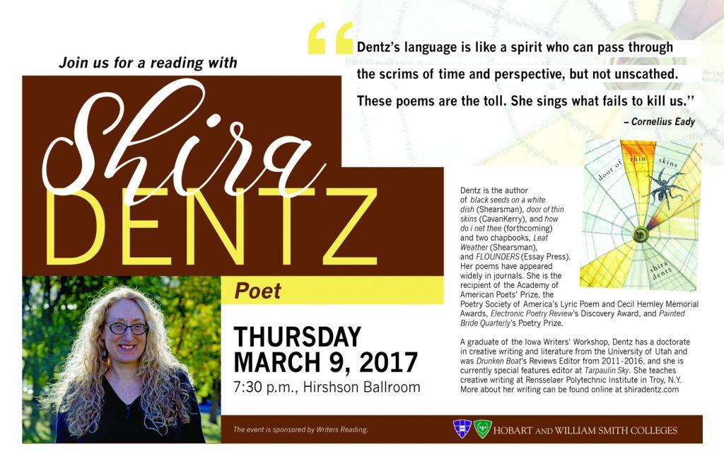 Shira Dentz reading