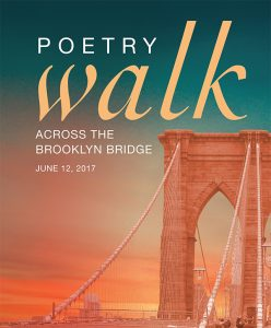 22nd Annual Poetry Walk Across the Brooklyn Bridge