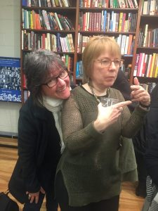 Former CavanKerry Press Associate Publisher, Teresa Carson and author Jeanne Marie Beaumont