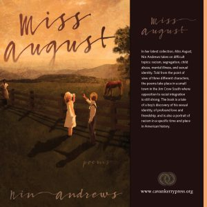 Miss August Nin Andrews front cover