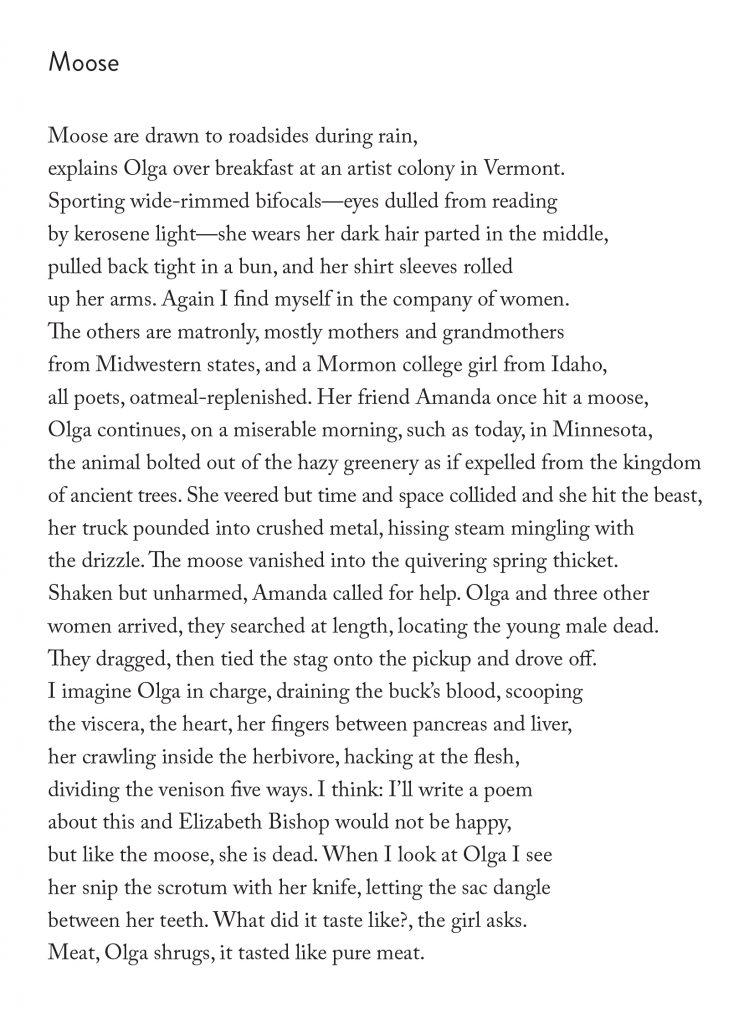 moose threshold poem joseph o. legaspi