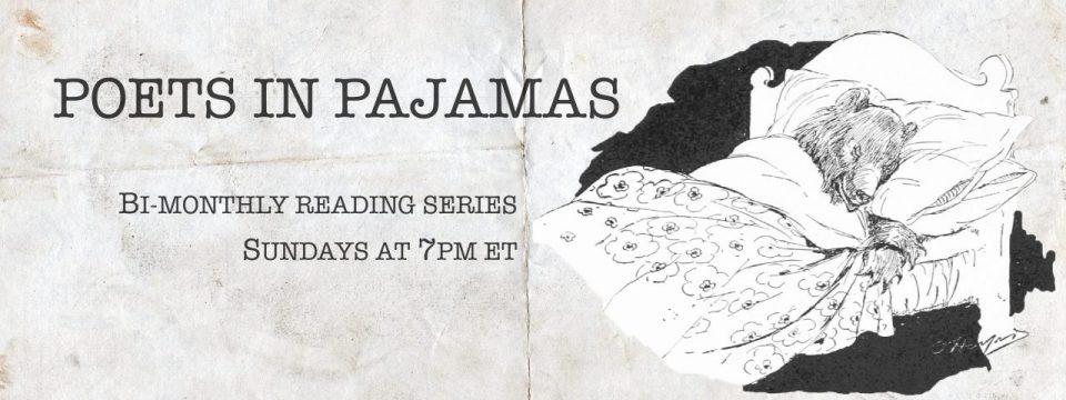 Poets in Pajamas Reading Series Banner