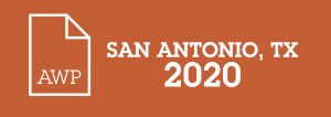 AWP 2020 in San Antonio, TX